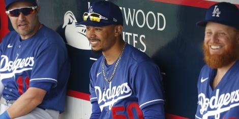 Mookie Betts & Dodgers Odds