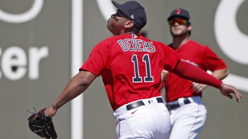 Boston Red Sox , Rafael Devers, Andrew Benintendi