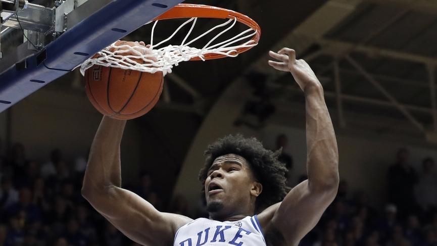 College Basketball Picks Duke Vernon Carey Jr