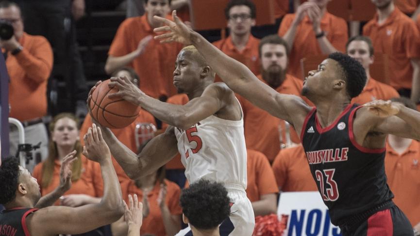 College Basketball Picks Virginia Mamadi Diakite