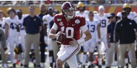 College Football Odds Alabama Mac Jones