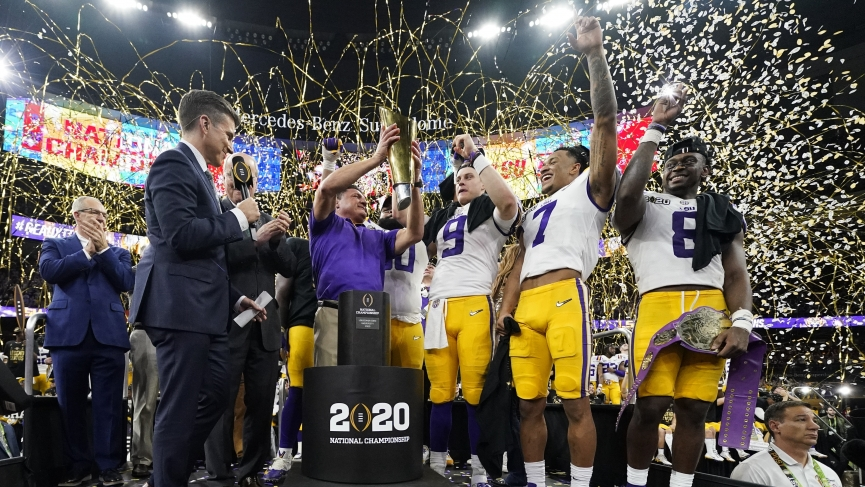 LSU Championship Odds
