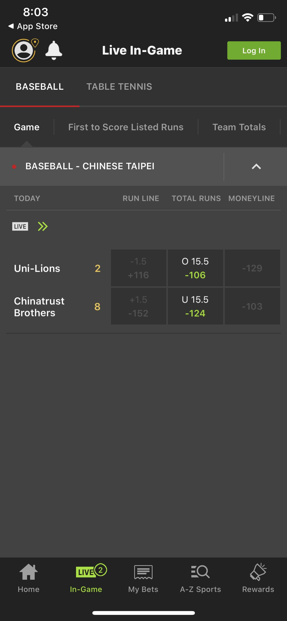 DraftKings Sportsbook App Live Betting