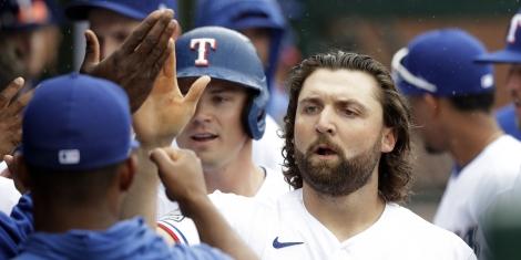 World Series Odds Texas Rangers Sam Travis