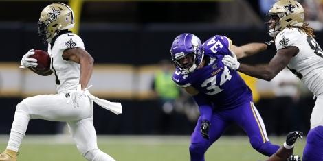 NFL Picks New Orleans Saints Deonte Harris