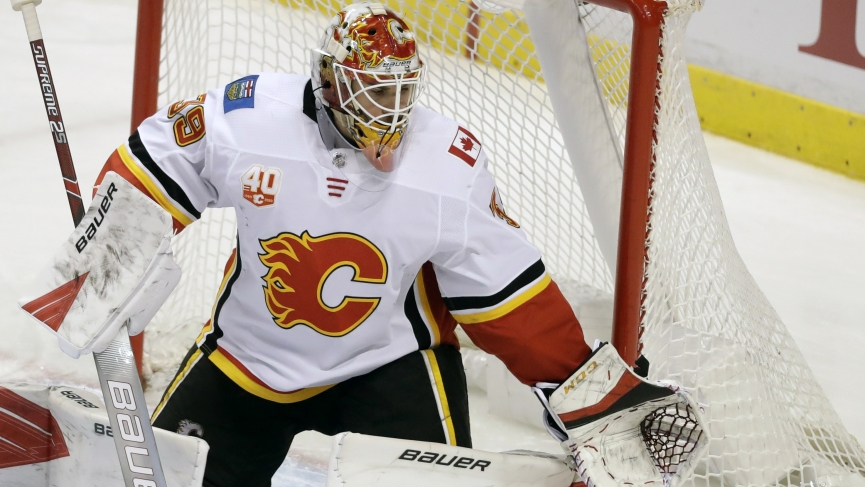 NHL Picks - Flames - Cam Talbot
