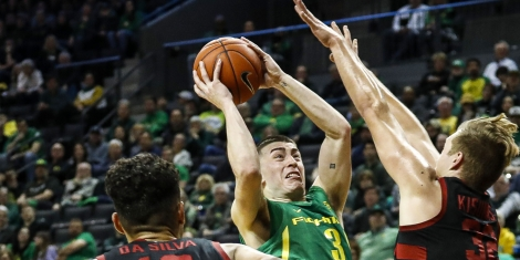 College Basketball Picks Oregon Rayton Pritchard