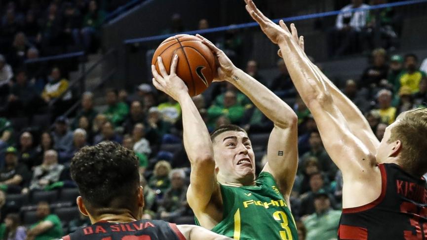 College Basketball Picks Oregon Rayton Pritchard