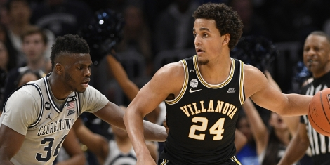 College Basketball predictions Villanova Jeremaih Robinson