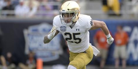 College Football Odds Notre Dame Branden Lenzy