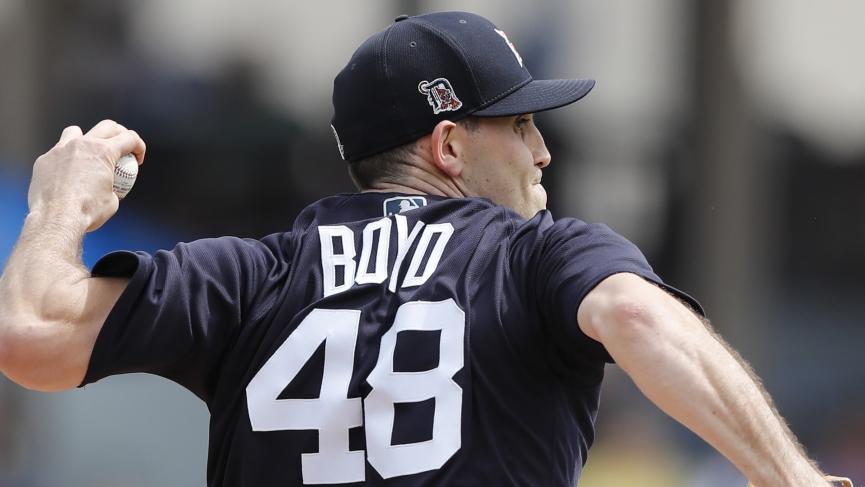 MLB Odds Detroit Tigers Matthew Boyd