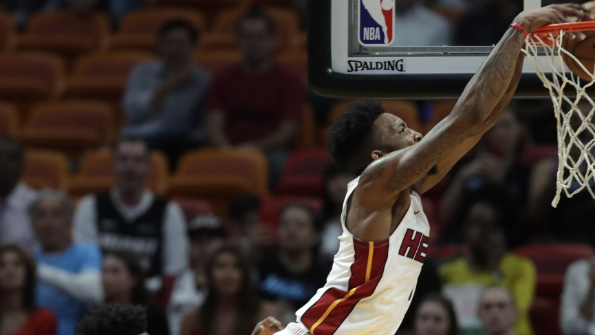 NBA Odds Miami Heat Derrick Jones Jr