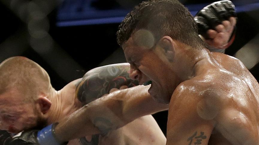 UFC Apex Gilbert Burns