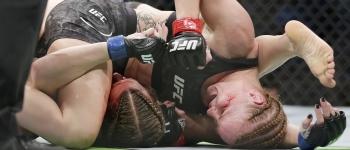 UFC Apex Valentina Shevcheko