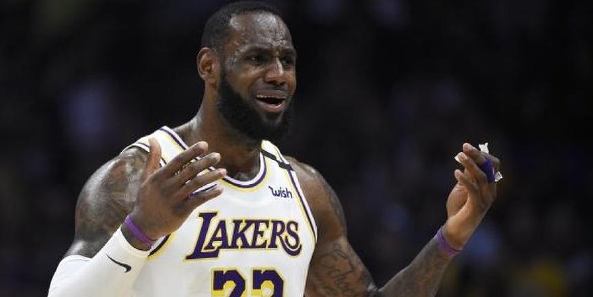NBA Bad Beats Lebron James