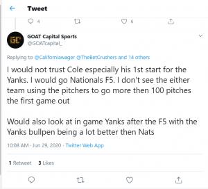 MLB Predictions NY Yankees