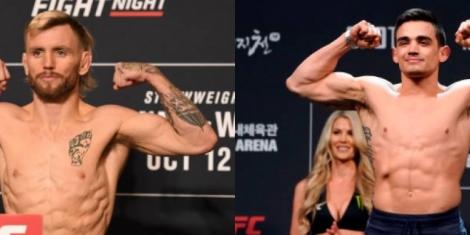 Ellio vs Benoit prediction UFC Fight Night 172