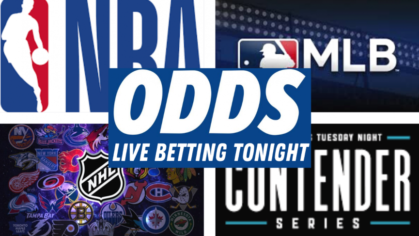 Live Betting | Contender Series, NBA, MLB and NHL