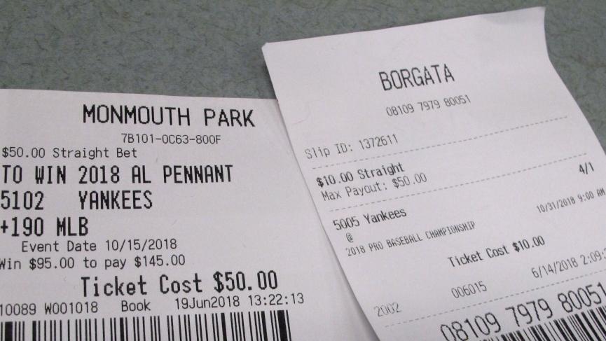 mlb betting winners