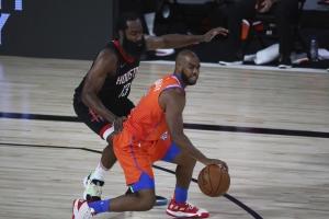 Thunder vs Rockets 2020 Playoff Pick