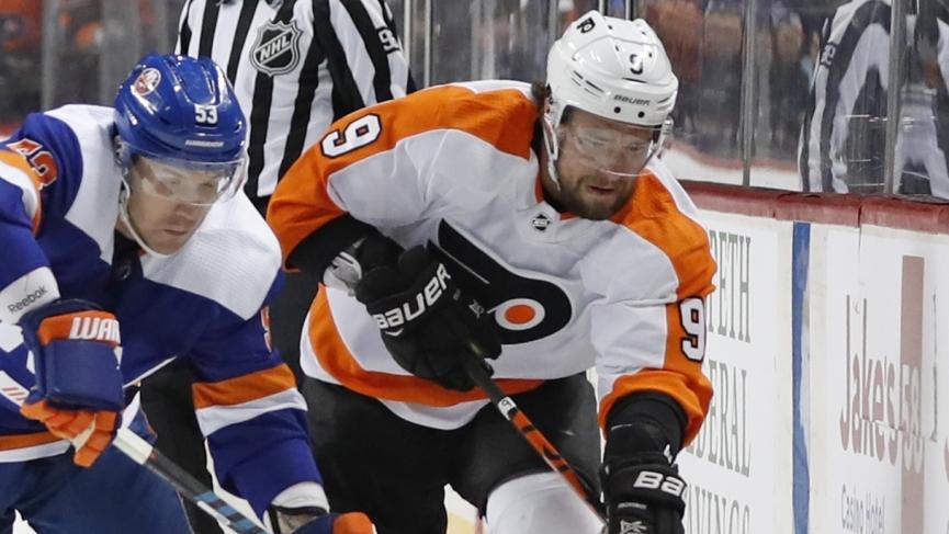Islanders Flyers Pick