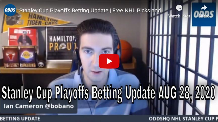 Stanley Cup Playoffs Betting Update