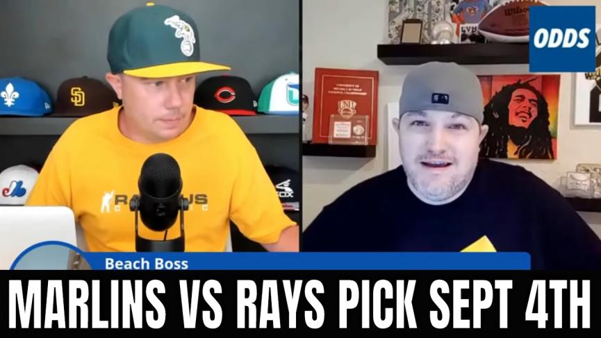 Marlins vs Rays Pick Sept 4th