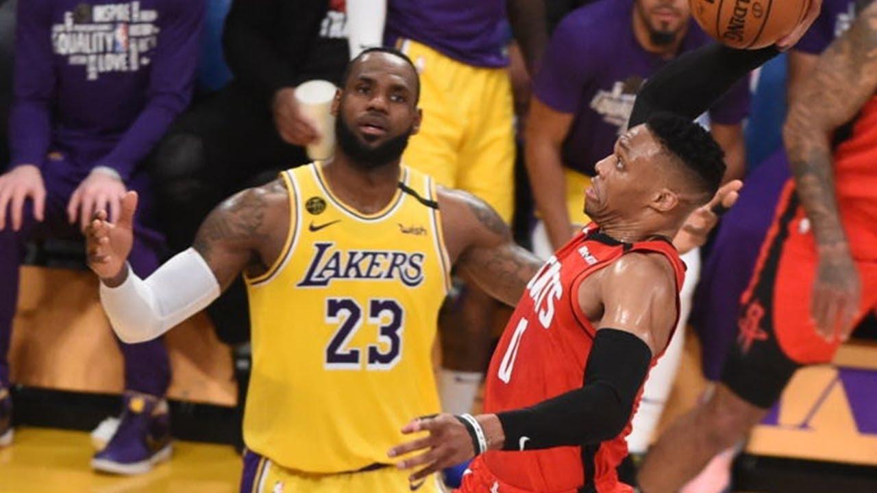 Rockets Vs Lakers Pick Game 1 Nba Playoffs Series Odds Com