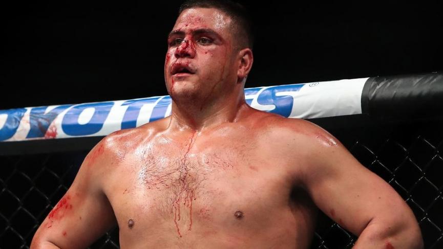 Tai Tuivasa says goodbye to the UFC e1603154587707