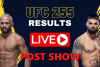 UFC 255 RESULTS LIVE POST SHOW WEB