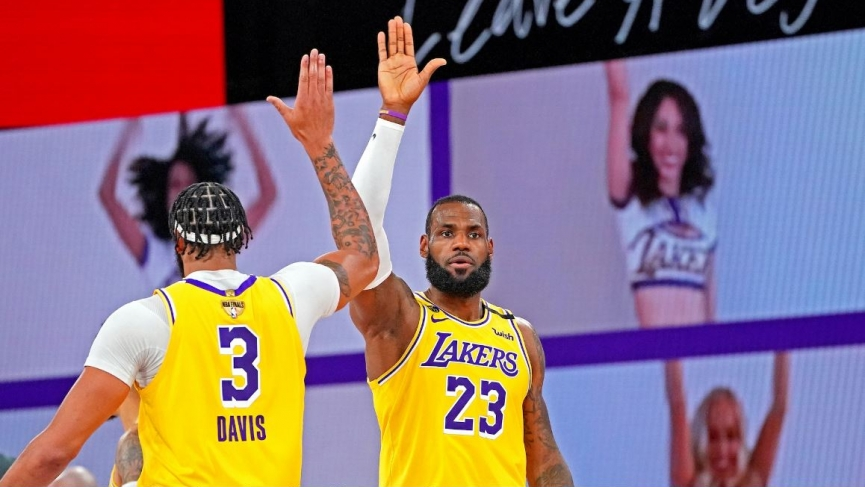 Lakers Odds On Favorite To Repeat Championship