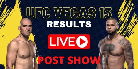 UFC Vegas 13 Results