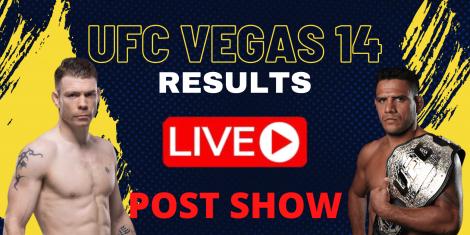 UFC VEGAS 14 RESULTS LIVE POST SHOW