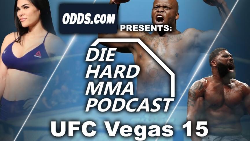 UFC Vegas 15 Odds