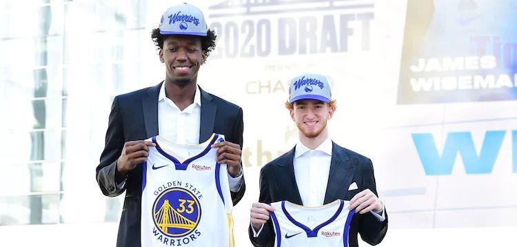 Warriors NBA Draft