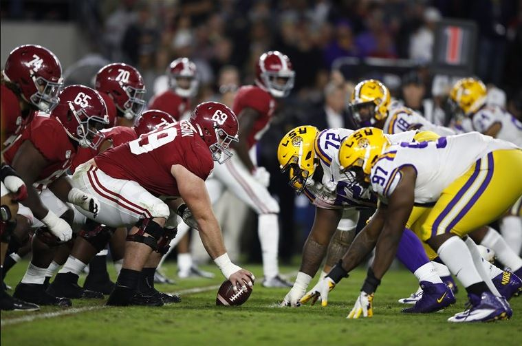 Alabama Vs LSU Odds