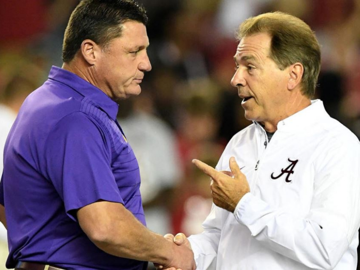 Lsu Underdogs Of Historical Size To Alabama On Saturday