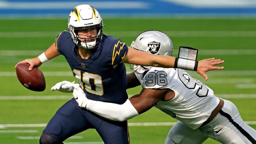 Chargers vs Raiders Odds
