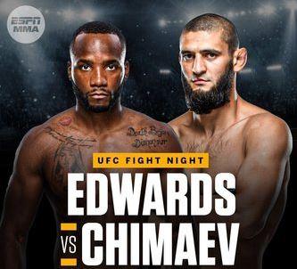 Edwards Vs Chimaev Odds