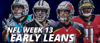 NFL Early Leans Week 13