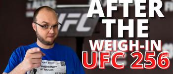 UFC 256 After The Weigh-Ins