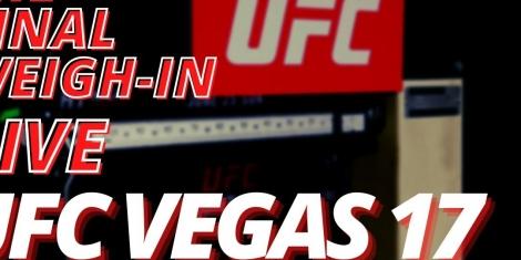 UFC Vegas 17 Odds