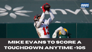 Mike Evans to Score Touchdown Anytime +105