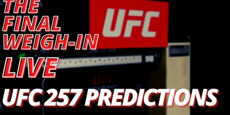 UFC257 The Final Weigh In Odds