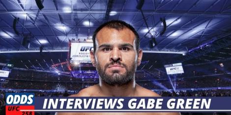 Gabe Green UFC 258 Odds