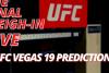 UFC Vegas 19 Picks