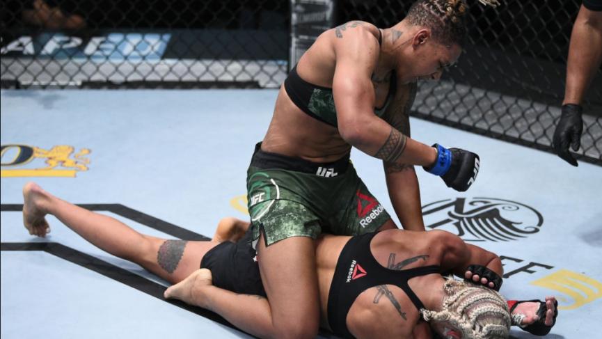 Shana Dobson UFC Vegas 19