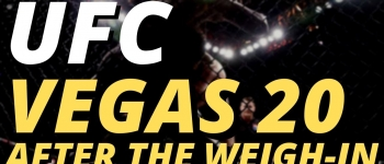 UFC Vegas 20 Picks