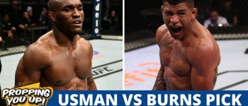 Usman vs Burns Pick