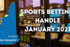 New Hampshire Sports Betting Handle January 2021